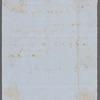Letter to George P. Putnam