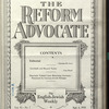 The Reform advocate, Vol. 90, no. 7