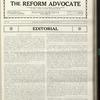 The Reform advocate, Vol. 90, no. 7