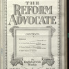 The Reform advocate, Vol. 90, no. 8