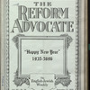 The Reform advocate, Vol. 90, no. 10