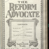 The Reform advocate, Vol. 90, no. 11