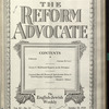 The Reform advocate, Vol. 90, no. 14