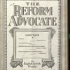 The Reform advocate, Vol. 90, no. 15