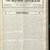 The Reform advocate, Vol. 90, no. 15