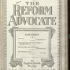 The Reform advocate, Vol. 90, no. 16
