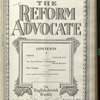 The Reform advocate, Vol. 90, no. 23