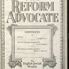 The Reform advocate, Vol. 91, no. 4