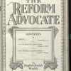 The Reform advocate, Vol. 91, no. 6