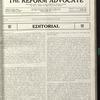 The Reform advocate, Vol. 91, no. 6