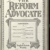 The Reform advocate, Vol. 91, no. 7