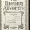 The Reform advocate, Vol. 91, no. 8