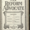 The Reform advocate, Vol. 91, no. 9