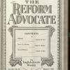 The Reform advocate, Vol. 91, no. 10