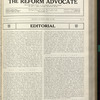 The Reform advocate, Vol. 91, no. 12