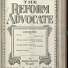 The Reform advocate, Vol. 91, no. 13