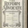 The Reform advocate, Vol. 91, no. 14