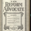 The Reform advocate, Vol. 91, no. 16