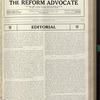 The Reform advocate, Vol. 91, no. 16