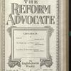 The Reform advocate, Vol. 91, no. 20
