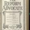 The Reform advocate, Vol. 91, no. 24