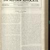 The Reform advocate, Vol. 91, no. 25