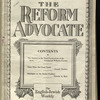 The Reform advocate, Vol. 92, no. 2