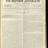 The Reform advocate, Vol. 92, no. 3