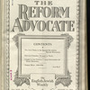 The Reform advocate, Vol. 92, no. 4