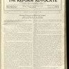 The Reform advocate, Vol. 92, no. 5