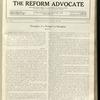 The Reform advocate, Vol. 92, no. 6