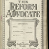 The Reform advocate, Vol. 92, no. 7