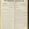 The Reform advocate, Vol. 92, no. 8