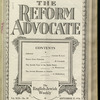 The Reform advocate, Vol. 92, no. 10