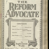 The Reform advocate, Vol. 92, no. 11