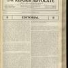 The Reform advocate, Vol. 92, no. 11