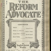 The Reform advocate, Vol. 92, no. 12
