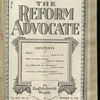 The Reform advocate, Vol. 92, no. 13