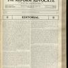 The Reform advocate, Vol. 92, no. 13