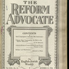 The Reform advocate, Vol. 92, no. 14