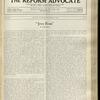 The Reform advocate, Vol. 92, no. 16