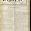 The Reform advocate, Vol. 92, no. 17