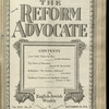 The Reform advocate, Vol. 92, no. 18