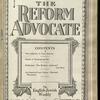 The Reform advocate, Vol. 92, no. 19