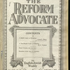 The Reform advocate, Vol. 92, no. 24