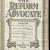 The Reform advocate, Vol. 92, no. 25