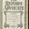 The Reform advocate, Vol. 92, no. 25