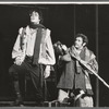 Raul Julia and Jerry Stiller in the stage production Two Gentlemen of Verona