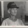 Old farmer near Lutcher, Louisiana.