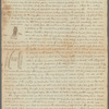 Letter from Isaac Child to his brother